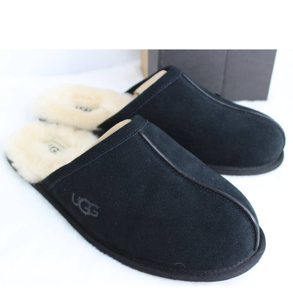 Ugg Scuff Slipper Size 11 Black